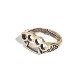 Brass knuckle ring